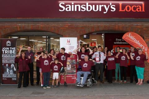 sainsburys_buntingford_group_pic_2_muscle_warrior_salute