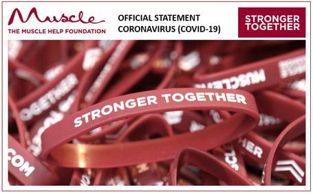 Coronavirus (COVID-19) - Muscle Help Foundation charity statement